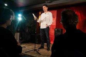 Paul Henry @Stroud Book Festival 2018